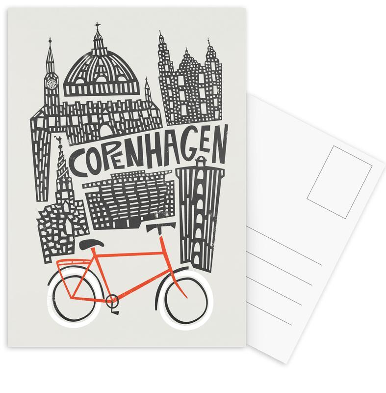 Copenhagen, Copenhagen Postcard Set