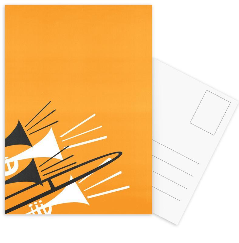 Brass -Postkartenset