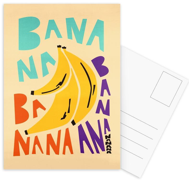 Bananas, Bana Banana Postcard Set