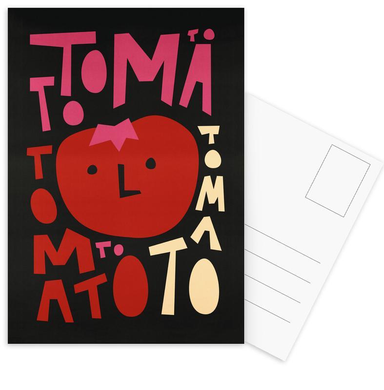 Tomatoes, Tomato Tomato Postcard Set