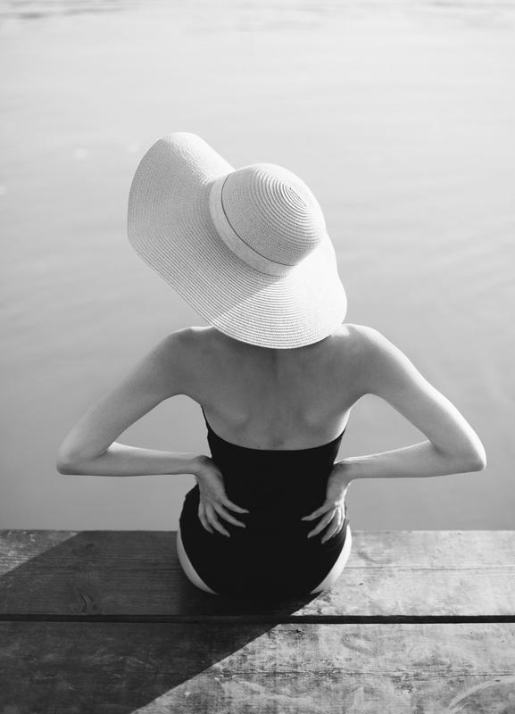 Beach Girl toile