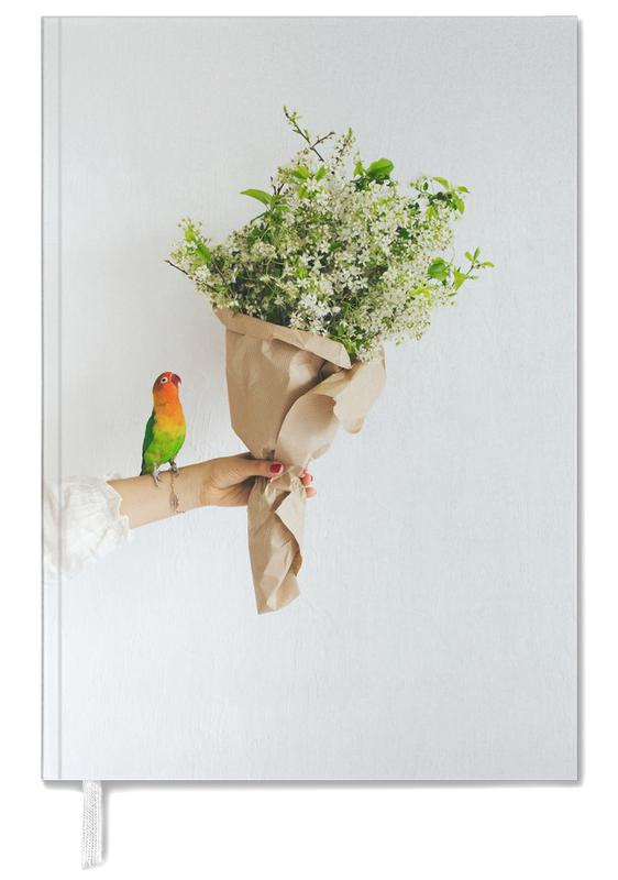 Parrot And A Girl Personal Planner