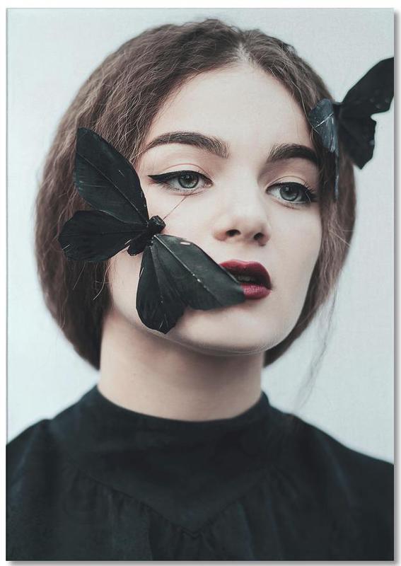 Traumwelt, Porträts, Schmetterlinge, Butterfly -Notizblock