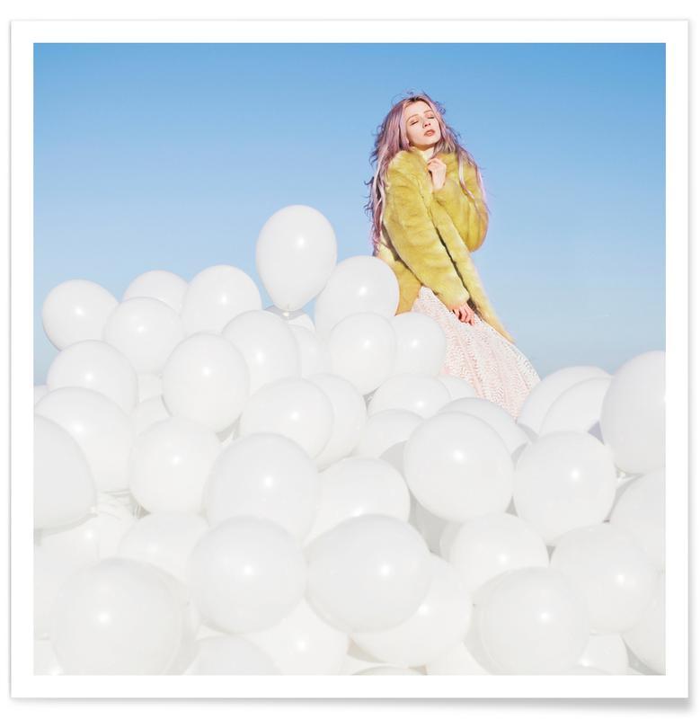 Dromerig, Lucht en wolken, 300 Balloons poster