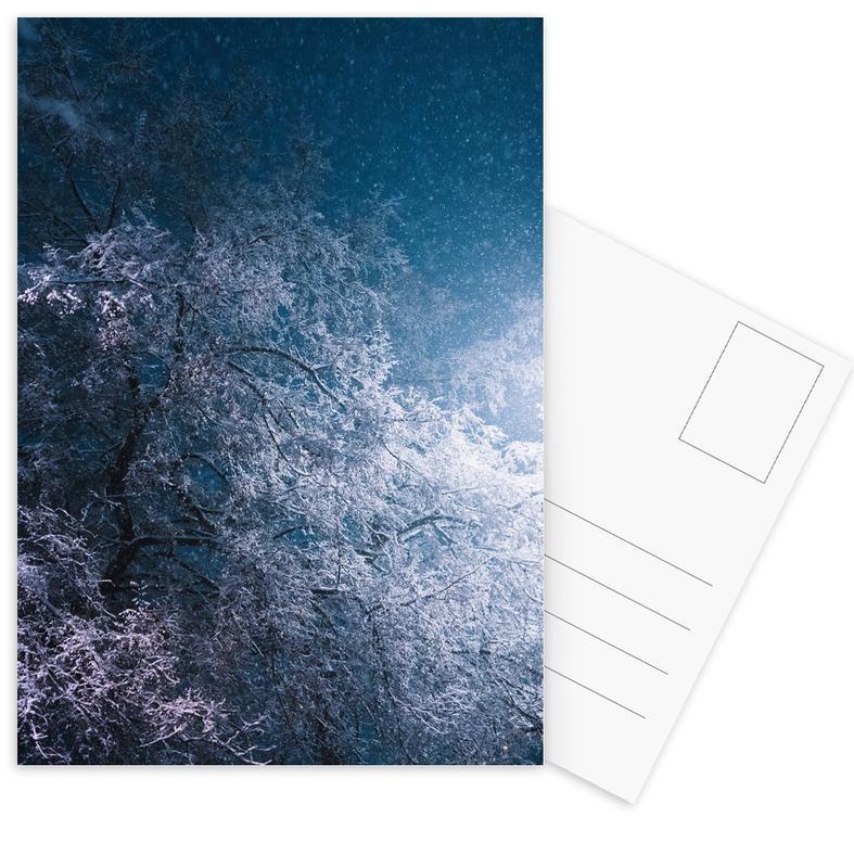 Winter Night Postcard Set