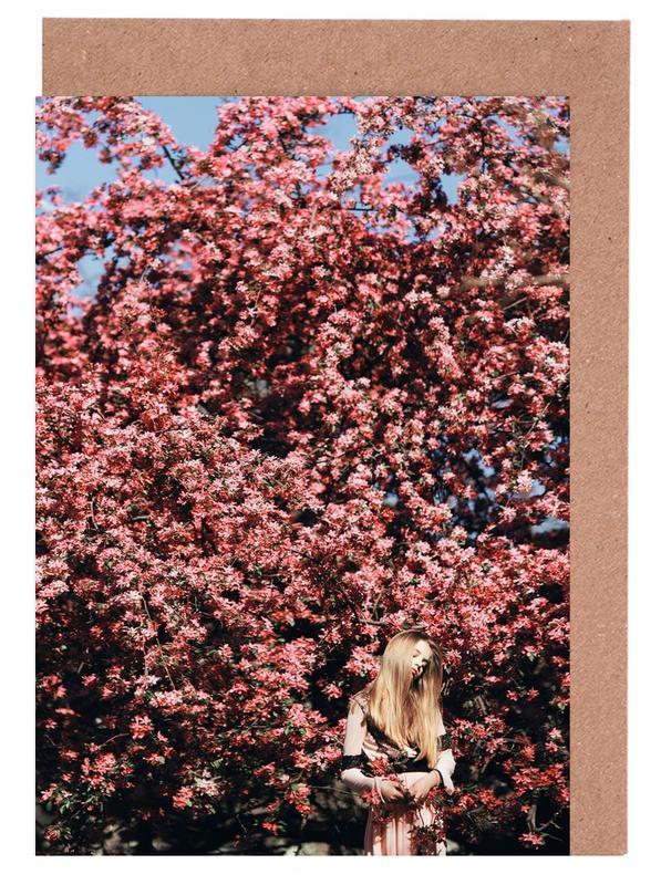 , Flower Tree cartes de vœux