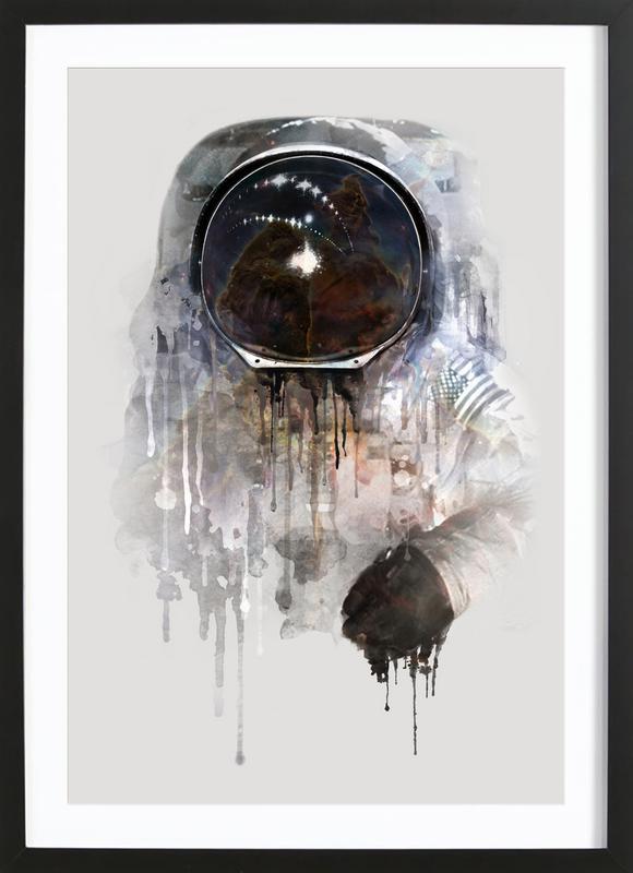 The Astronaut ingelijste print