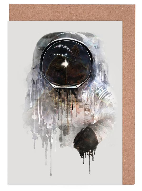 The Astronaut Greeting Card Set