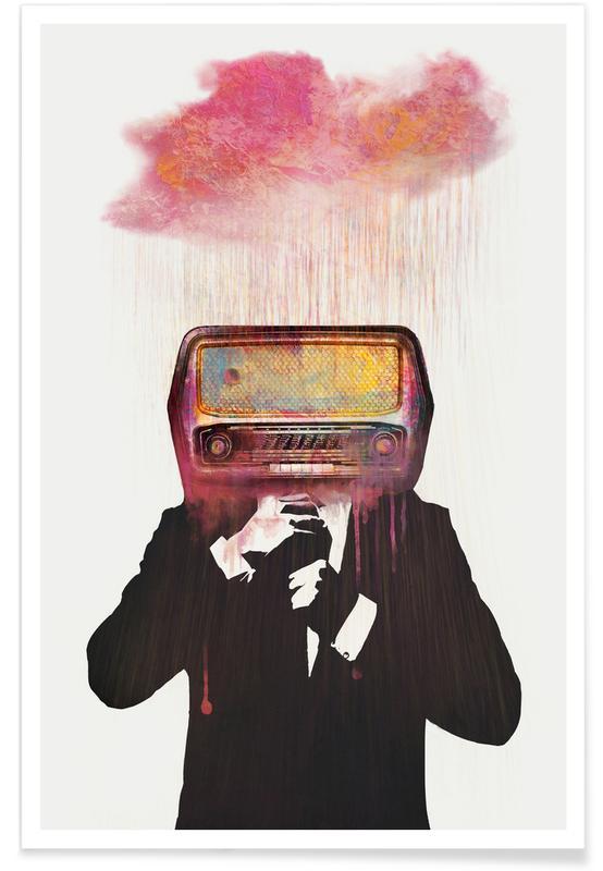 Rock, Radiohead poster