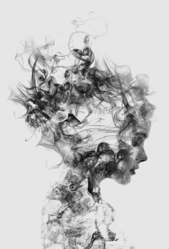 Dissolve Me -Acrylglasbild