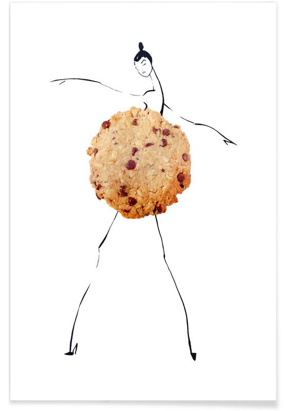 Karlie Fashion Sketch Poster