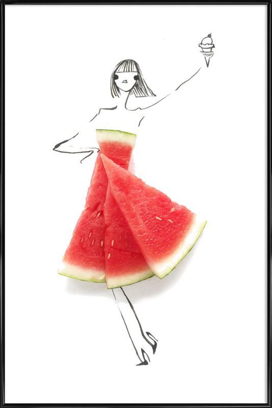 Watermelon Framed Poster