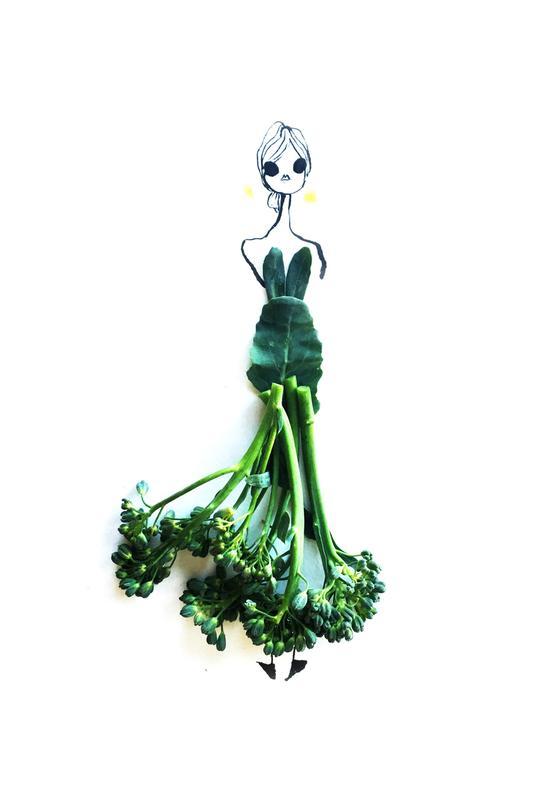 Broccoli alu dibond