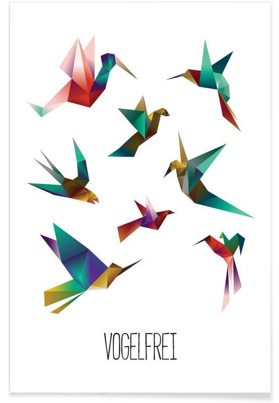 , Vogelfrei -Poster