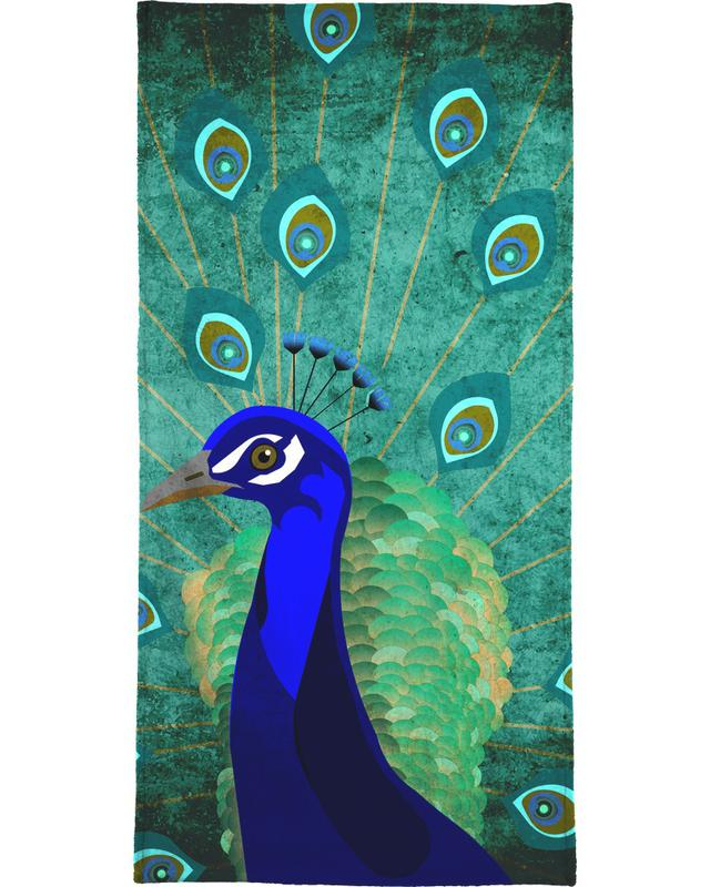 Pfau Bath Towel