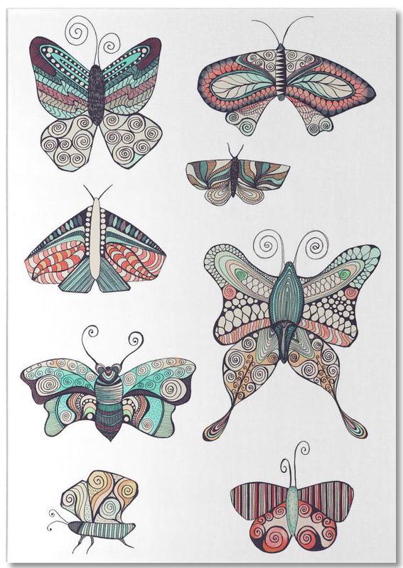 Schmetterling bloc-notes
