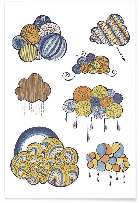 , Wolken -Poster