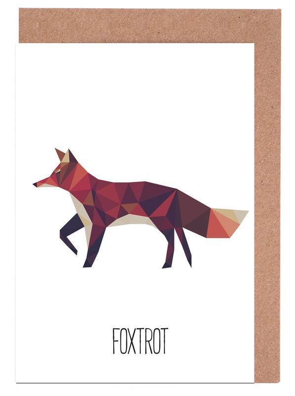 Foxtrot -Grußkarten-Set