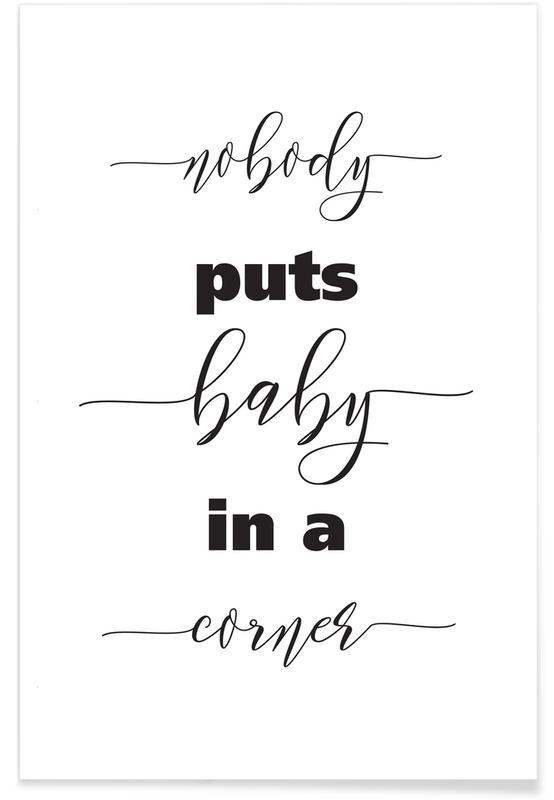 Baby Corner -Poster