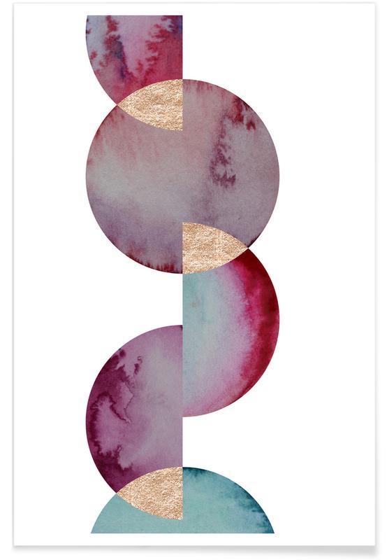 , Aqua 2 -Poster