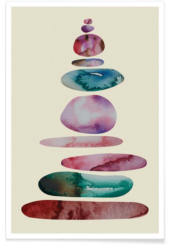 , Aqua Turm 1 -Poster