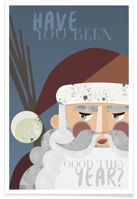 Weihnachten, Santa -Poster