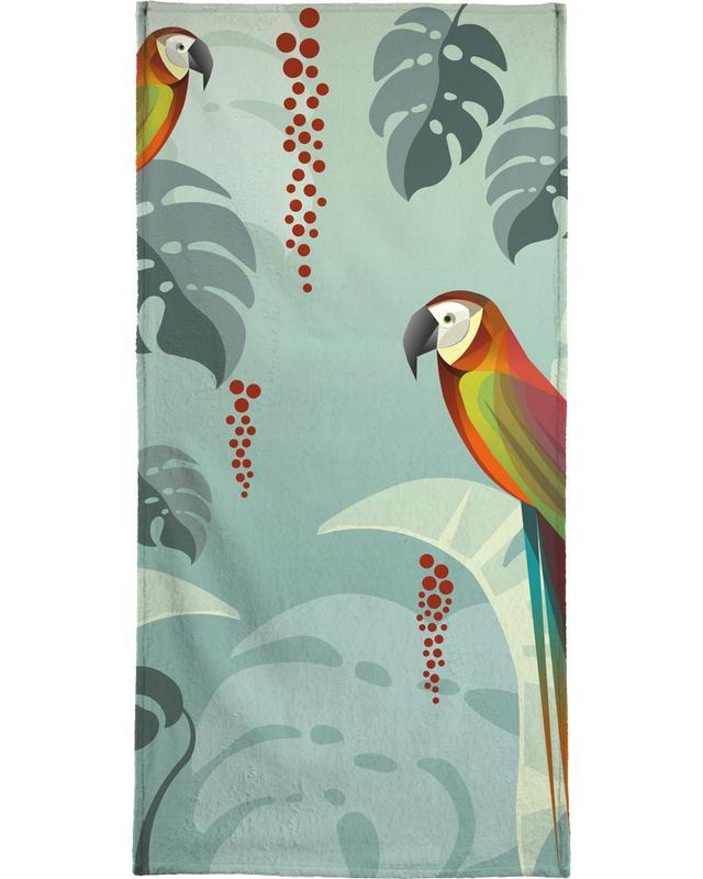 Parrot -Strandtuch