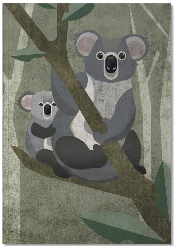 Koalas, Art pour enfants, Koala Notebook