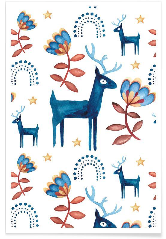 Weihnachten, Skandi Xmas -Poster