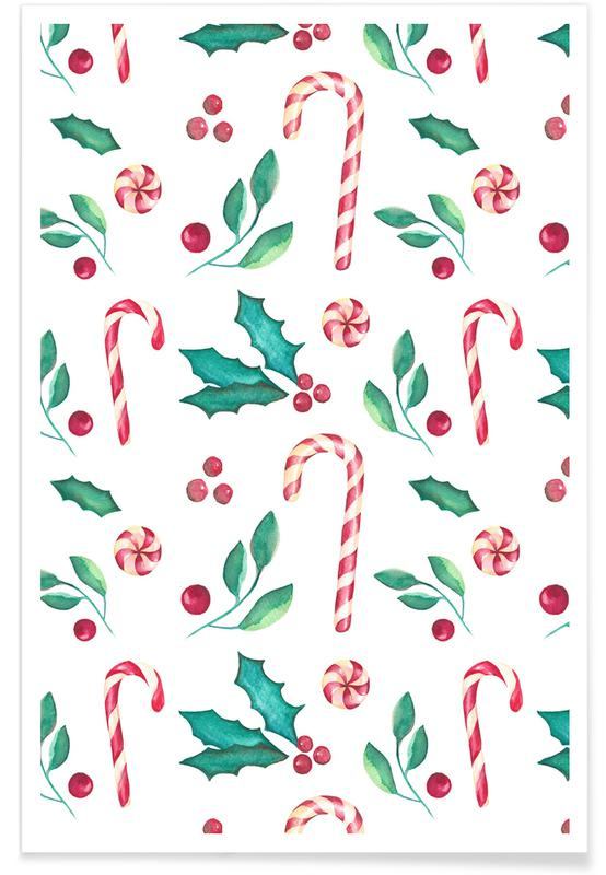 Christmas, Mistle Candy Poster