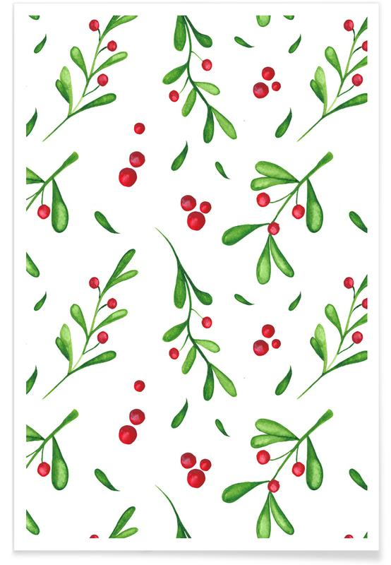 Weihnachten, Mistle -Poster