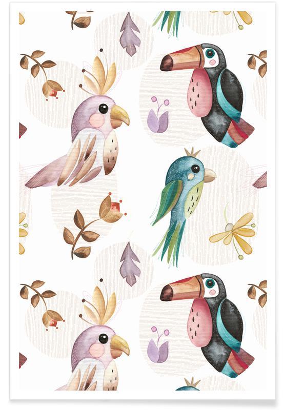 Avions, Birds affiche