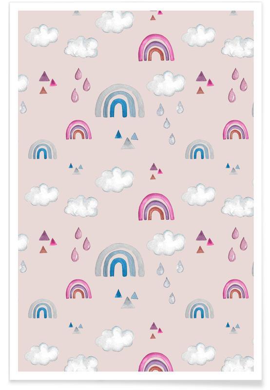 Ciels & nuages, Rainbow affiche