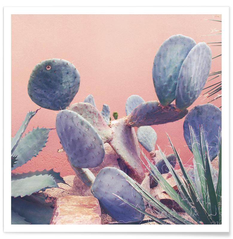 Cactussen, Into the Tropics (Pink) poster