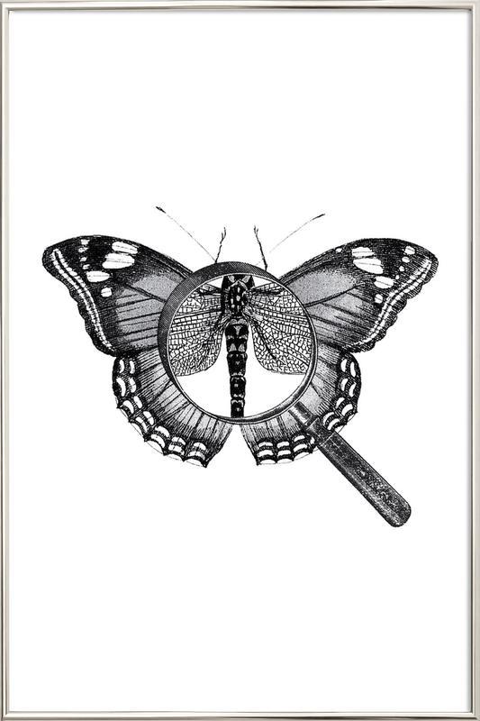 Loeping Good (Butterfly) poster in aluminium lijst