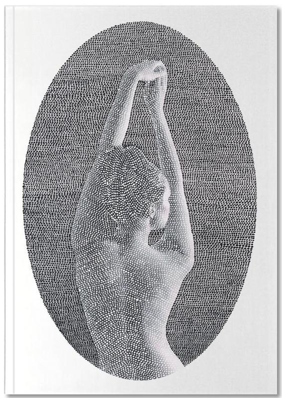 Black & White, Nude, Noise (Black&white) Notebook