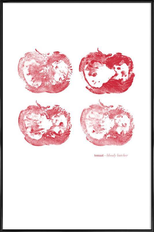 Bloody Butcher Framed Poster