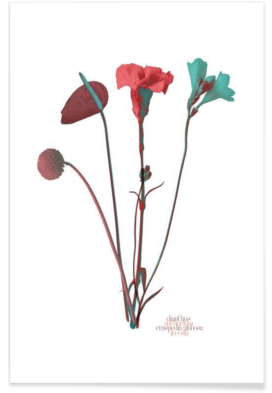 , Ode aux Fleurs (Mint) poster