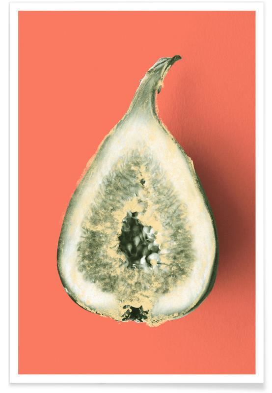 , Ode aux Légumes - Fig poster