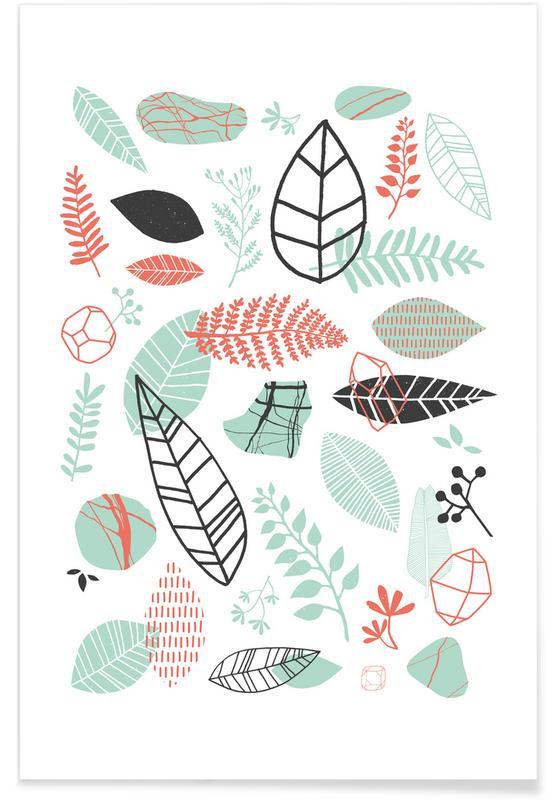 Bladeren en planten, Nature is Taking Over Mint poster