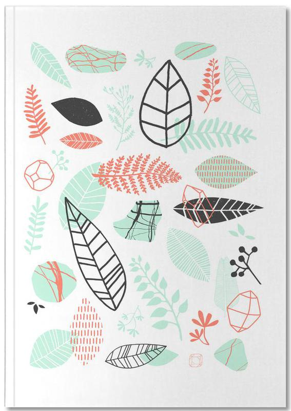 Feuilles & Plantes, Nature is Taking Over Mint Notebook