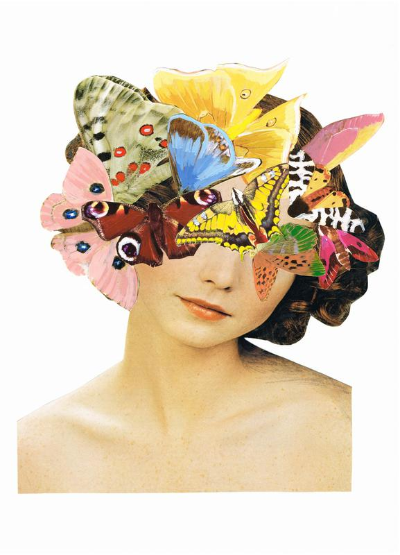 Het recht mooi te zijn - Butterflyhead toile