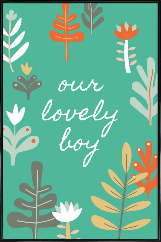 Our Lovely Boy Framed Poster