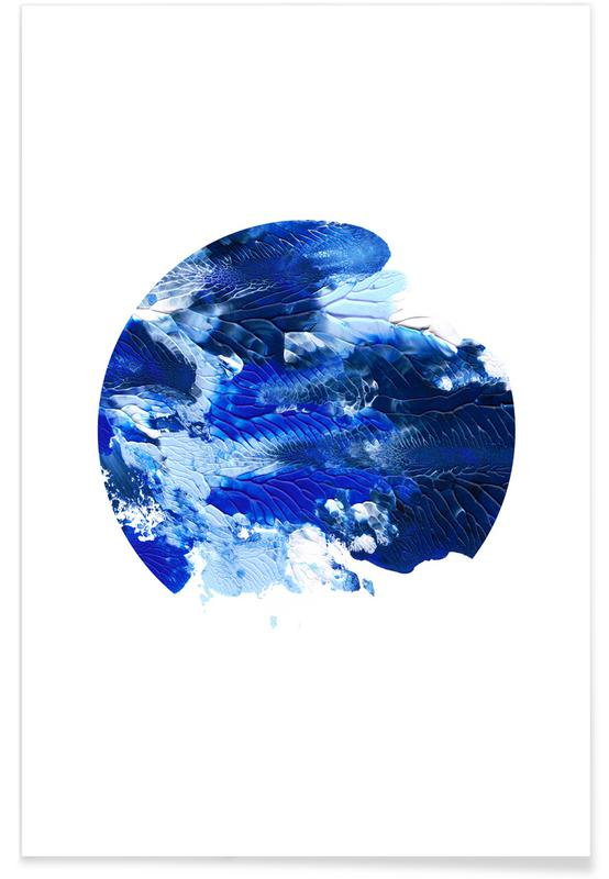 , Holy Smudge (Blue) poster