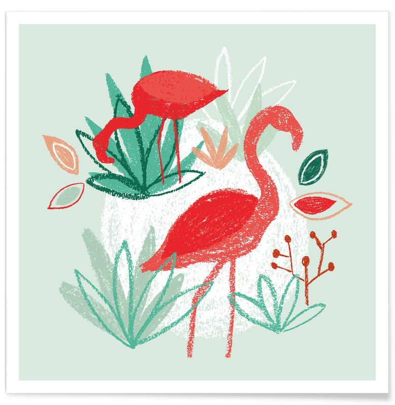 Flamingo's, The Two Flamingos poster