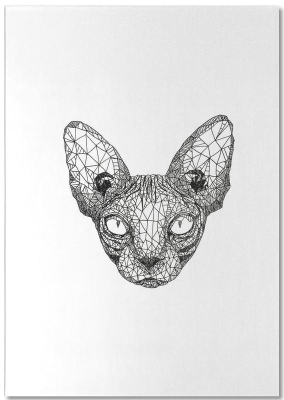 Sphynx Cat -Notizblock
