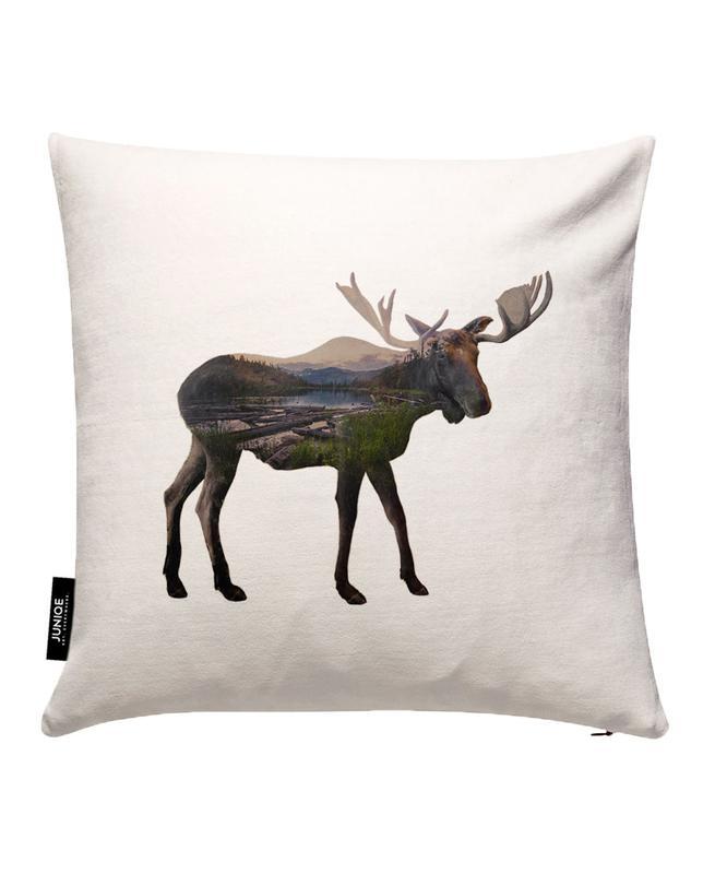 Moose Cushion Cover