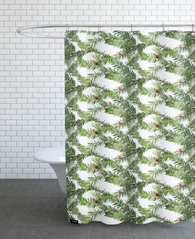 PATTERN AUTUNNALE II Shower Curtain