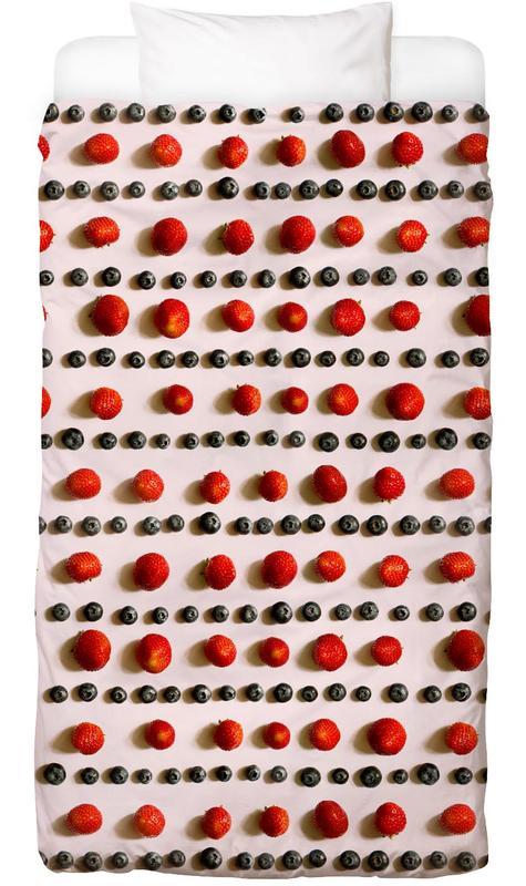 Bessen, Aardbeien, Frutti di bosco Dekbedovertrekset