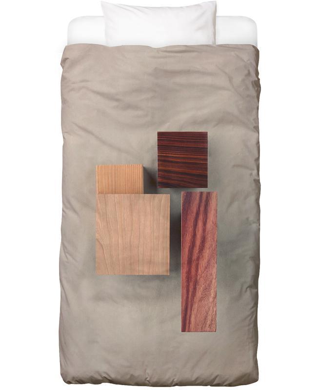 Cherry Cocobolo Padauk Wood I Bed Linen